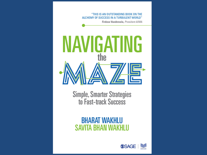 Book Intro : Navigating the Maze – Simple and Smart Strategies to Fast-track Success