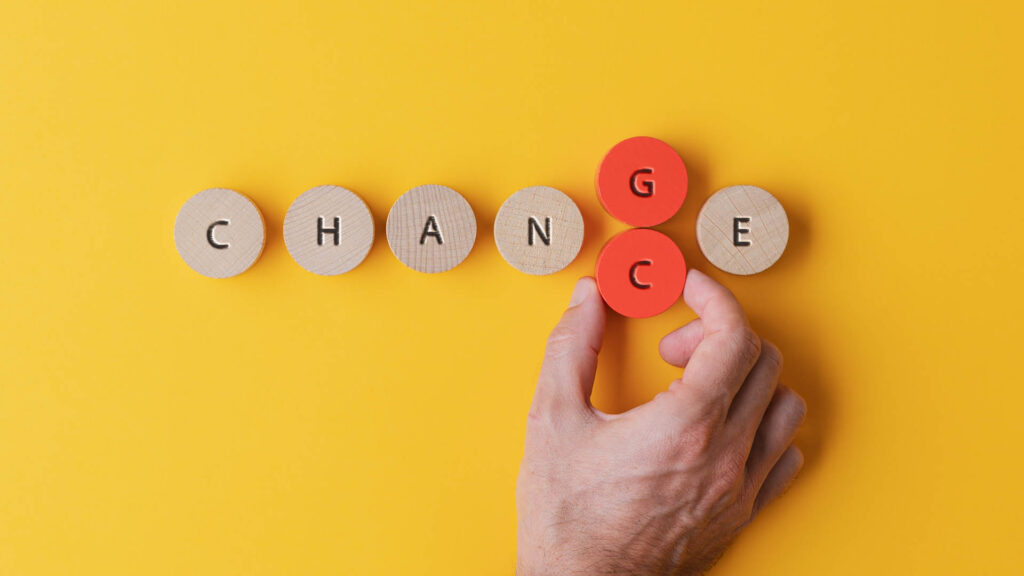 Adapting to change – Managing to align with changing times
