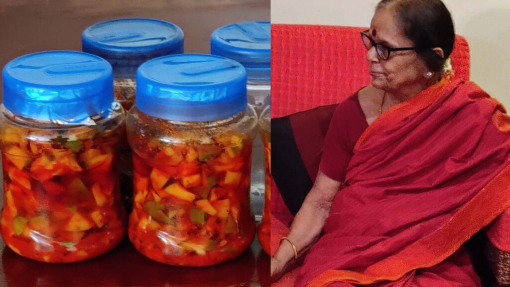 A Pickles Entrepreneur at 83 – When a Grand Mom showcased her Skills